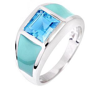 Ring Blautopas