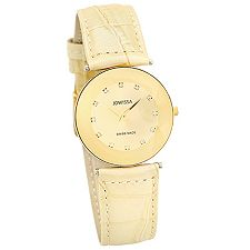 JOWISSA Rimini Armbanduhr Lederband Swiss Made