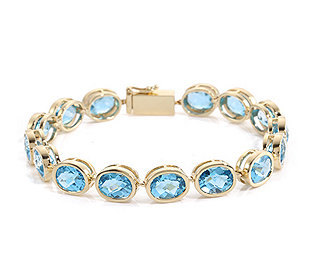 Armband 15 Topase