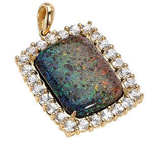 Anhänger Matrix-Opal