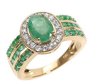 Ring 25 Smaragde Saphire