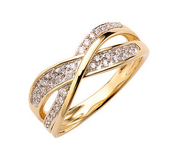 Ring 39 Brillanten - 610747