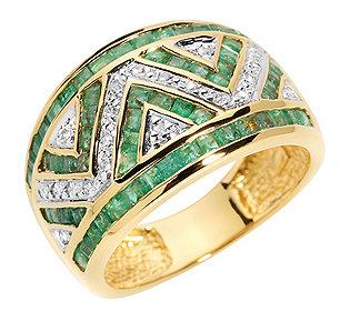 Ring 61 Smaragde