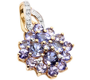 Anhänger Tansanit Diamant