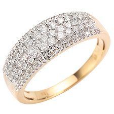 CANADIAN DIAMONDS 87 Brillanten zus.ca.0,75ct. Ring Gold 750