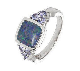 Ring Opal Tansanit