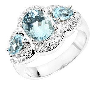 Ring 3 Aquamarine