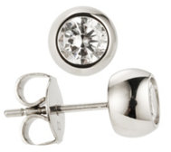 DIAMONIQUE® TITAN Ohrstecker = 1,00ct Brillantschliff