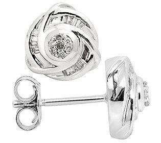 Ohrstecker 38 Diamanten
