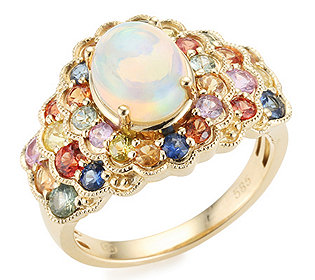 Ring Opal 30 Saphire