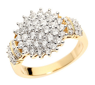 Ring 61 Diamanten