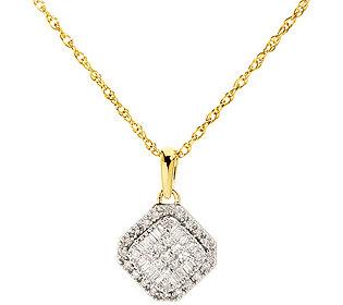Anhänger 53 Diamanten