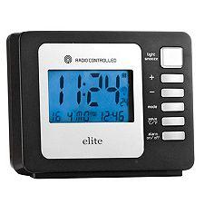 ELITE Funkwecker Bewegungssensor Temperaturanzeige Kalender