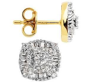 Ohrstecker 80 Diamanten