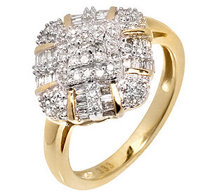 Ring 85 Diamanten