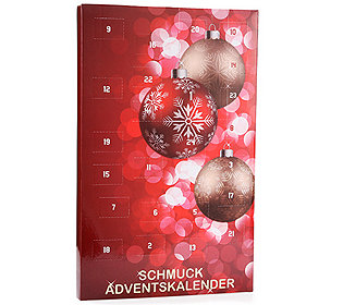 Adventskalender Schmuck