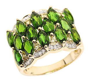 Ring 14 Chromdiopside