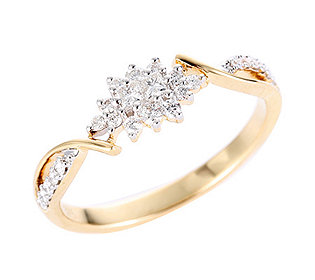 Ring 24 Diamanten