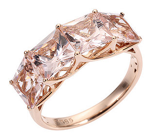Ring 4 Morganite