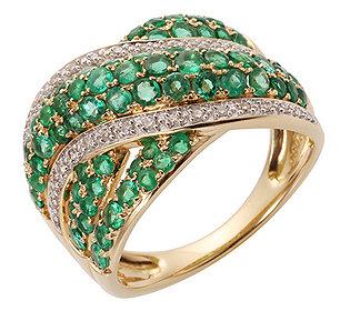 Ring 72 Smaragde