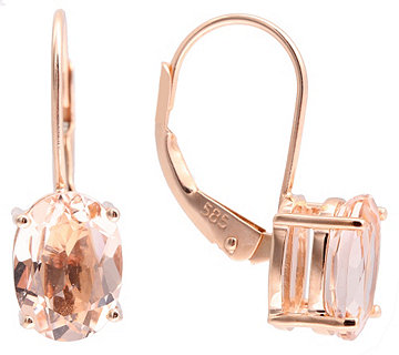 Ohrboutons 2 Morganite - 601061