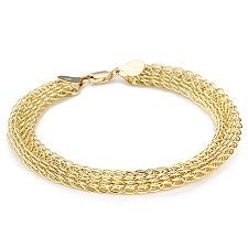 Gold 375 Armband ca. 20cm mind. 4,90g poliert