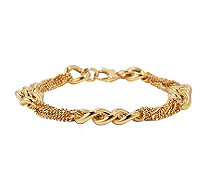 Armband Panzer-Look Gold - 632561