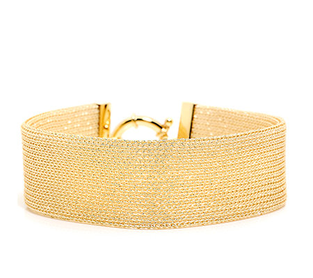 JOY AND JOY Armband ca. 20cm Lurex