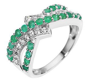 Ring 22 Smaragde