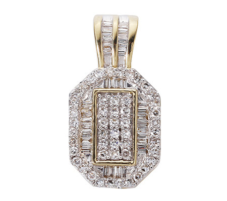 GLAMOUR DIAMONDS 88 Diamanten zus.ca.0,50ct. Anhänger Gold 375