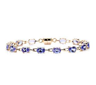 Armband 14 Tansanite