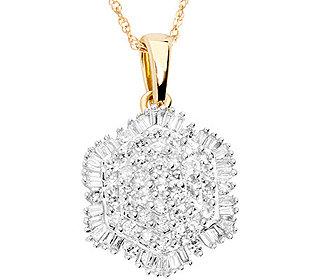 Anhänger 73 Diamanten