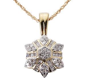 Anhänger 55 Diamanten