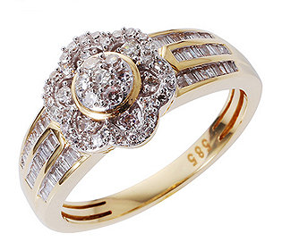 Ring 95 Diamanten