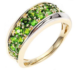 Ring 18 Chromdiopside