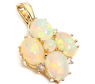 Anhänger Opale Saphire