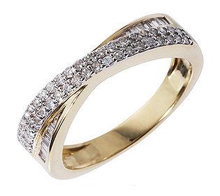 Ring 56 Diamanten