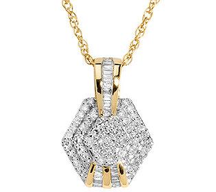 Anhänger 67 Diamanten