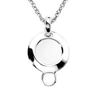 Charm-Träger Kette Silber
