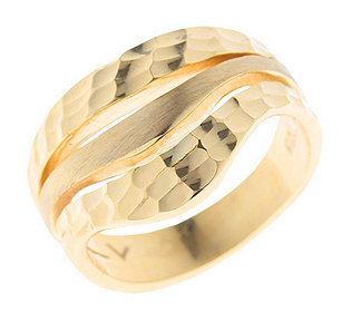 Ring diamantiert mattiert