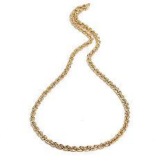 Gold 585 Kordelkette ca. 48cm mind. 4,00g poliert