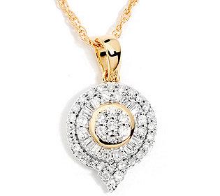 Anhänger 54 Diamanten