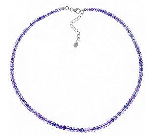 Collier Lavendel-Tansanit