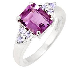 Ring Amethyst Tansanite