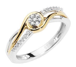 Ring 21 Diamanten