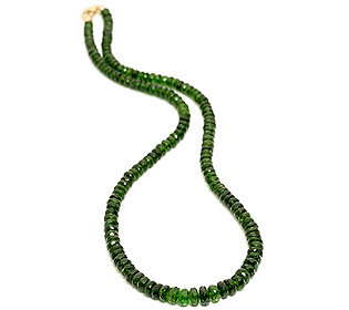 Collier Chromdiopside