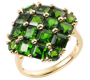 Ring 16 Chromdiopside