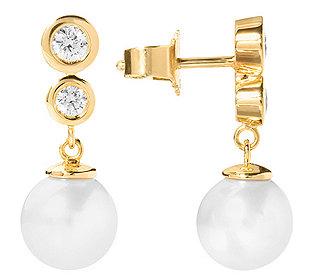 Ohrhänger 2 Perlen