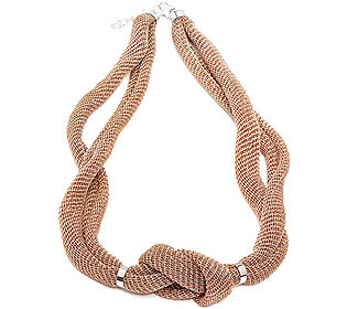 Collier mit Knoten