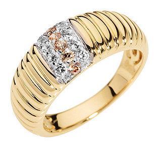 Ring Bicolor 13 Steine
